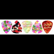 Harley Benton Guitar Pick Thin 5 Pack