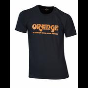 Orange T-Shirt Logo L