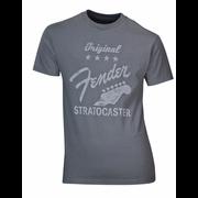 "Fender T-Shirt ""Stratocaster"" Grey S"