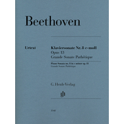 Henle Verlag Beethoven op.13 Pathetique