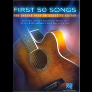 Hal Leonard First 50 Songs Acoustic Guitar