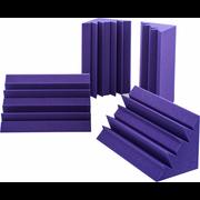 Auralex Acoustics Lenrd Bass Traps Purple