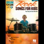 Hal Leonard Drum Play-Along Rock Songs Kid