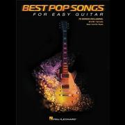 Hal Leonard Best Pop Songs For Easy Guitar