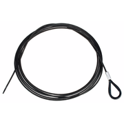 Stairville Steelwire Safety 500cm/5mm Bk