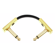 Rockboard Flat Patch Cable Gold 5 cm