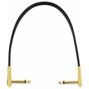 Rockboard Flat Patch Cable Gold 30 cm