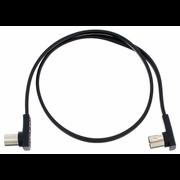 Rockboard Flat MIDI Cable 60cm Black