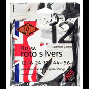 Rotosound Silvers 12-56 Nickel Strings