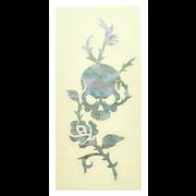 Jockomo Rose & Skull Sticker WP