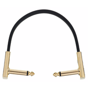 Harley Benton Pro-20 Gold Flat Patch Cable