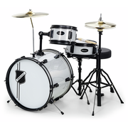 Millenium Youngster Drum Set Silver