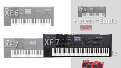 Yamaha Motif XF 7 Bundle