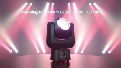 Stairville Bowl Beam 604Z Zoom LED MKII RGBW