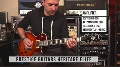 Prestige Guitars Heritage Elite FM SB AAA