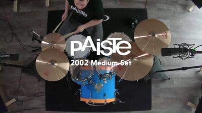 Paiste 2002 Medium Set