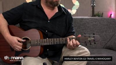 Harley Benton GS-Travel-E Mahogany