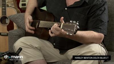 Harley Benton Delta Blues T