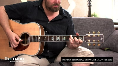 Harley Benton Custom Line CLD-41SE