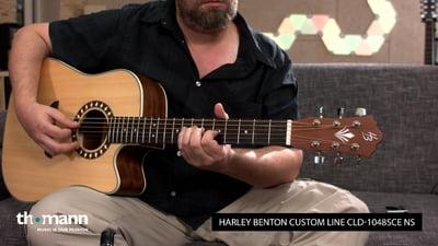 Harley Benton Custom Line CLD-1048SCE NS