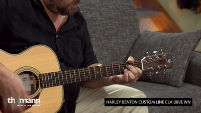 Harley Benton Custom Line CLA-28VE WN