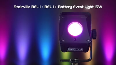 Stairville BEL1+ Battery Event Light 15W RGBAW