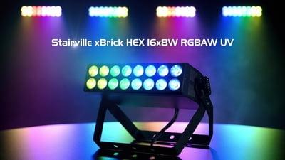 Stairville xBrick HEX 16x8W RGBAW UV