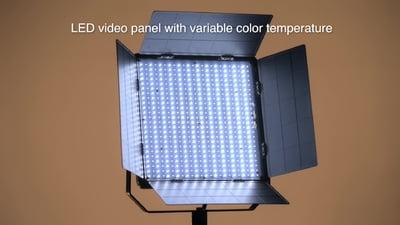 Varytec VP-1 DMX Video BiLight Panel