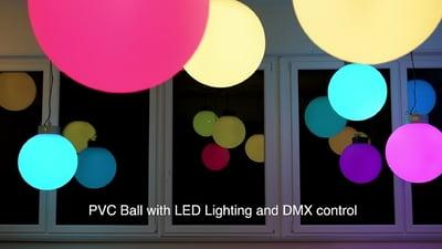 Varytec LED Ball RGBW 50cm 4x8W DMX