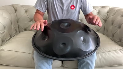 Harmonic Art Handpan Master 8 Integral D