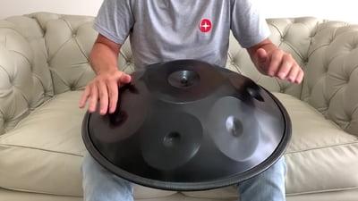 Harmonic Art Handpan Master 8 F Dorian