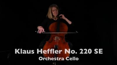 Klaus Heffler Nr. 220 SE Orchester Cello Stradivari 4/4