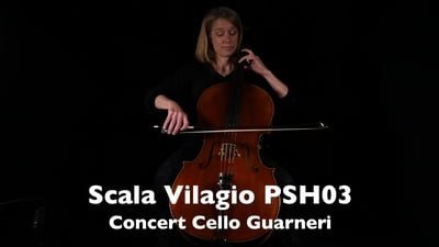 Scala Vilagio PSH03 Konzert Cello Modell Guarneri 4/4