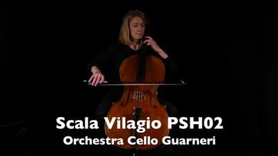 Scala Vilagio PSH02 Orchester Cello Modell Guarneri 4/4
