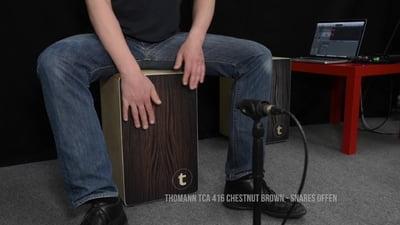 Thomann TCA 416 Cajon Chestnut Brown