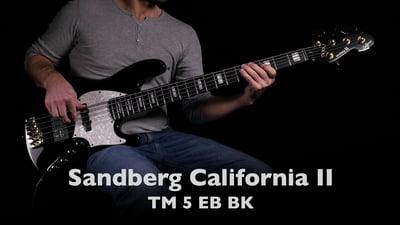 Sandberg California II TM 5 Ebony Black