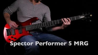 Spector Legend Standard 5 Metallic Red Gloss