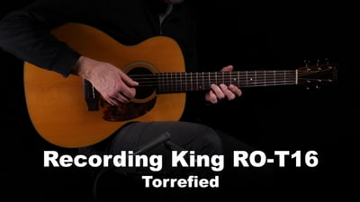 Recording King RO-T16 Torrefied