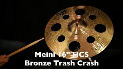 Meinl 16 HCS Bronze Trash Crash