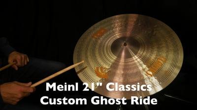 Meinl 21 Classics Custom Ghost Ride