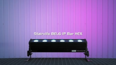 Stairville BEL6 IP Bar HEX