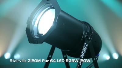 Stairville Z120M Par 64 LED RGBW 120W